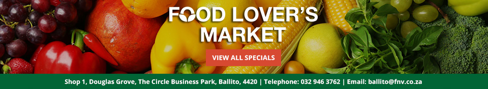 Food Lovers Advert About Ballito