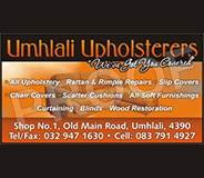 Umhlali Upholsterers - Ballito Services